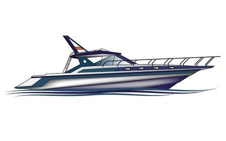 fishing cabin: Luxury Yacht