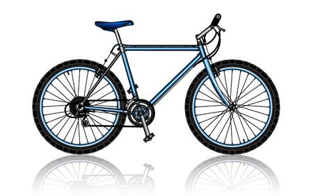 bicycling: mountain bike