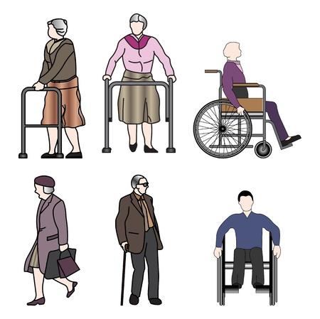 accessibilit�: anziani e disabili
