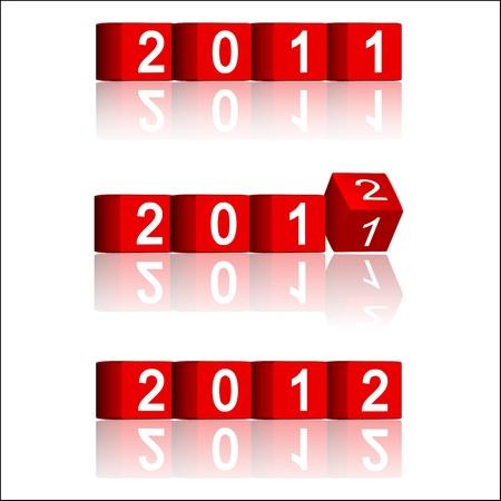 passing: Paso de los a�os 2011-2012 Vectores