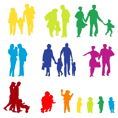 family groups Vector