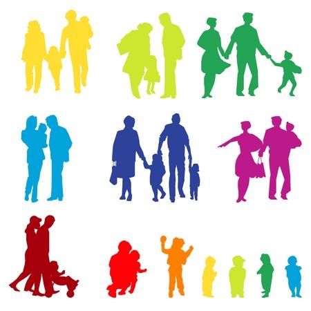 juntos: varias familias