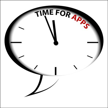 programing: Bubble Clock  Time for APPS