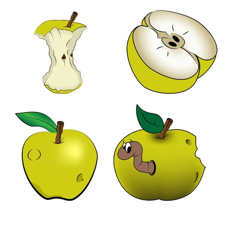 naturally: Green apples