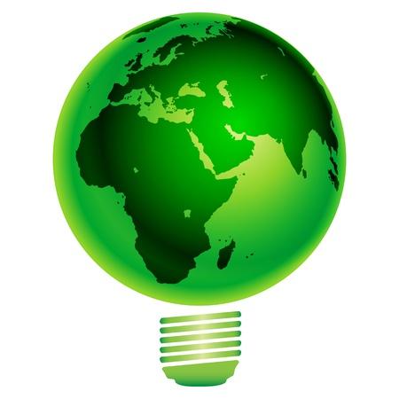 ECO- save the earth, vector Stock Illustratie