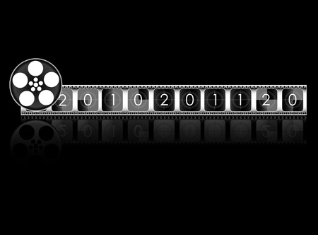 year Film countdown Stock Vector - 22066037