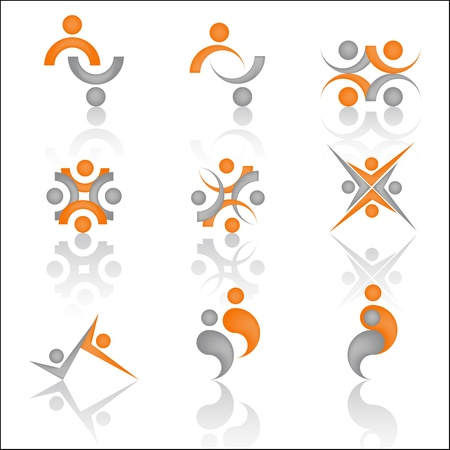 Team symbols for design, emblem  Vector