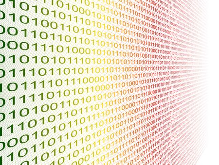 Binary code Stock Vector - 22066165