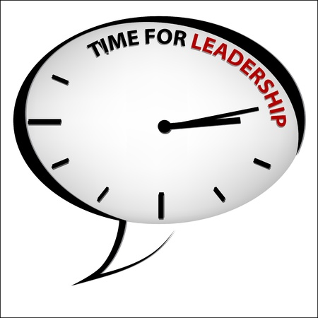 energize: Clock  Time for leadership