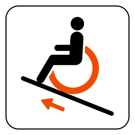 accessible: lift disabled icon