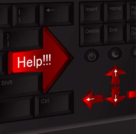 plainness:  Help keyboard