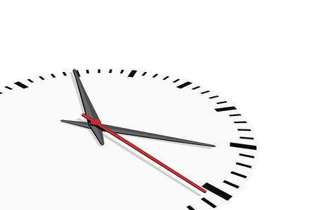 Clock background, vector Vector