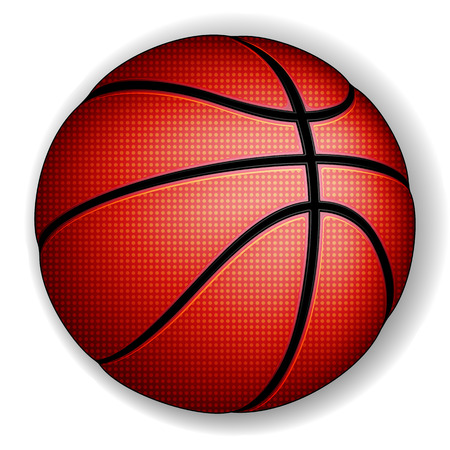 Basketball ball, vector Stock Vector - 29975153