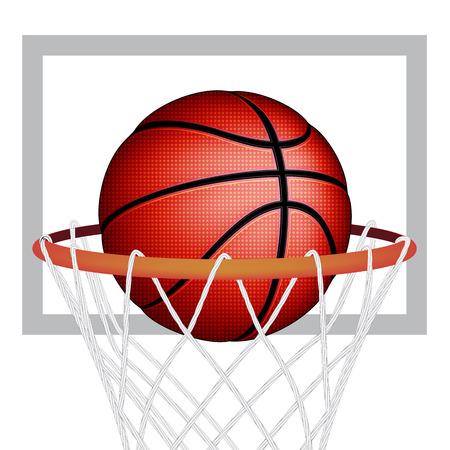 Basketball ball, vector