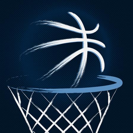 Basket-ball, vecteur Banque d'images - 31045900