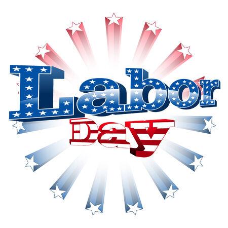 Labor Day, United States of America, vector Illustration