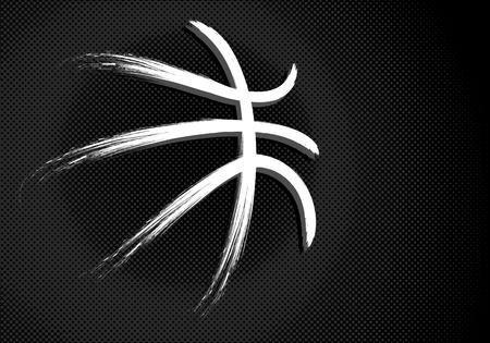 college basketball: Basketball, vector Illustration