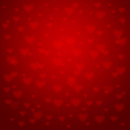 st valentine  s day: background with hearts - Valentines day, vector Illustration