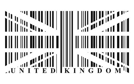 UK barcode flag photo