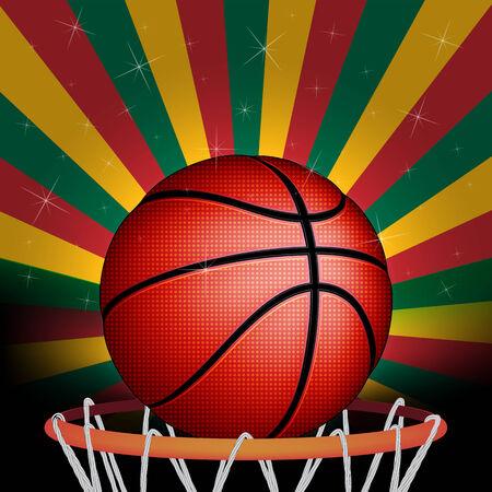 basket ball: Lithuanians basket ball