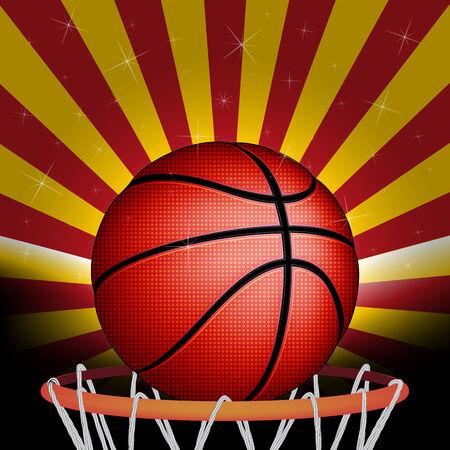 basket ball: Spanish basket ball Illustration
