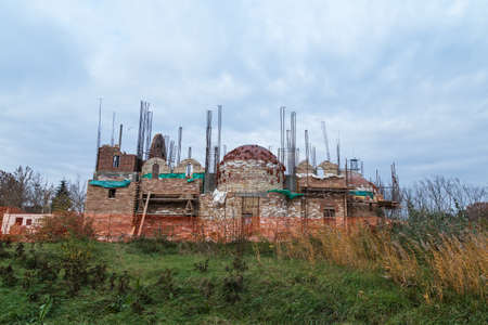 ortodox: Ortodox Church under construction