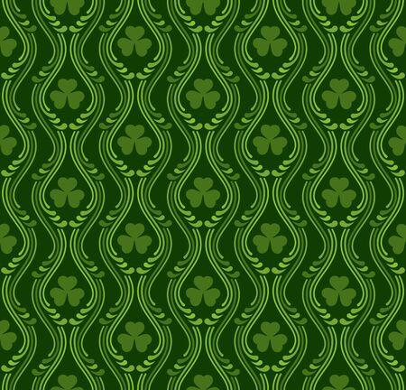 threeleaf: Saint Patrick's day pattern