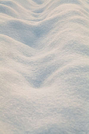 snowbanks: Snow surface in evening light Stock Photo