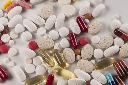 heap: Heap of medicine pills
