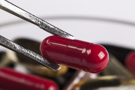 pincers: Pincers with red pill
