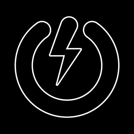 power button: Power button, vector