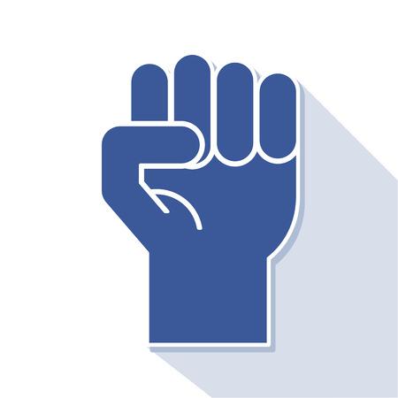 revolt: fist symbol, vector Illustration