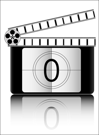 countdown: Film countdown vector