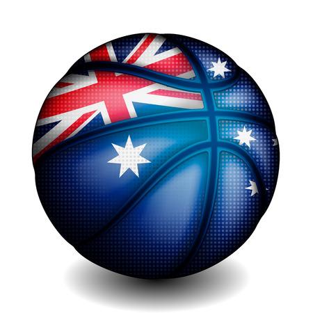 basket ball: Australian basket ball, vector
