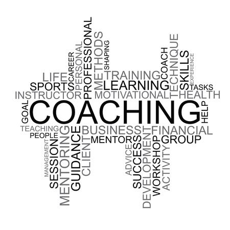 clarifying: Coaching tag cloud