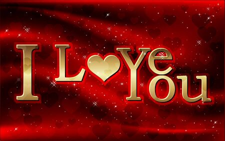 love wallpaper: I love you, vector