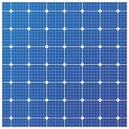 voltaic: Solar cell pattern, vector Illustration