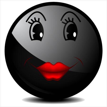 smiley: Black smiley