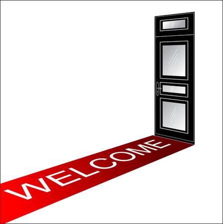 5 door: welcome red carpet