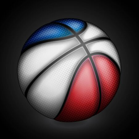 basket ball: French basket ball, vector