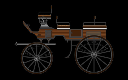 reins: Horse Carriage, vector