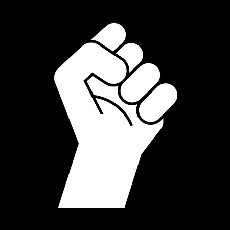 revolution: fist revolution symbol, vector Illustration