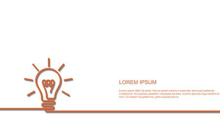 Bright Idea concept Illustration