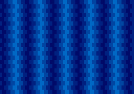 Blue abstract textured polygonal background. Blurry rectangular pattern design vector