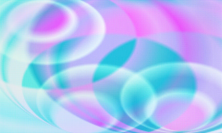 Modern abstract holographic pattern vector background. Concept pop art. Minimal surrealism background.