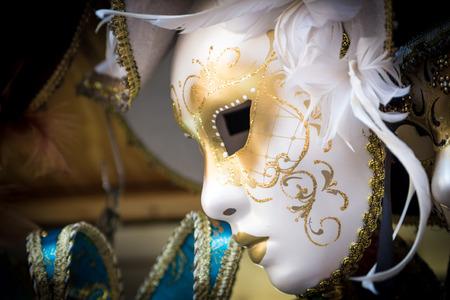 mascara de carnaval: Máscara típica de la Venecia del carnaval