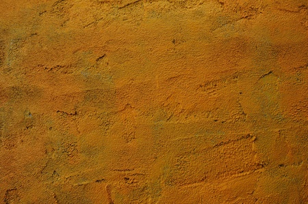 Rough Yellow Cement Wall Background Texture
