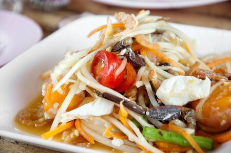 a picture of delicious thai food on dishes