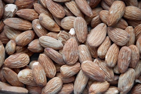a picture of many tasty almond nuts Stock Photo - 11030500
