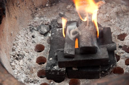 coal stove photo